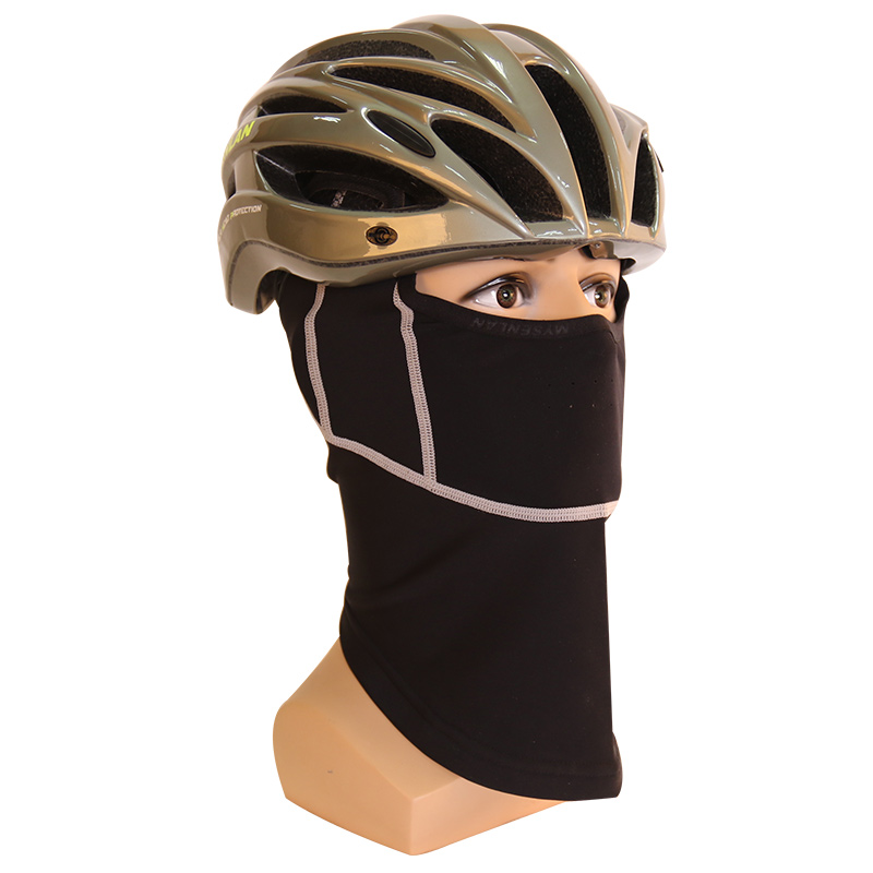 Fleece mask for autumn and winter